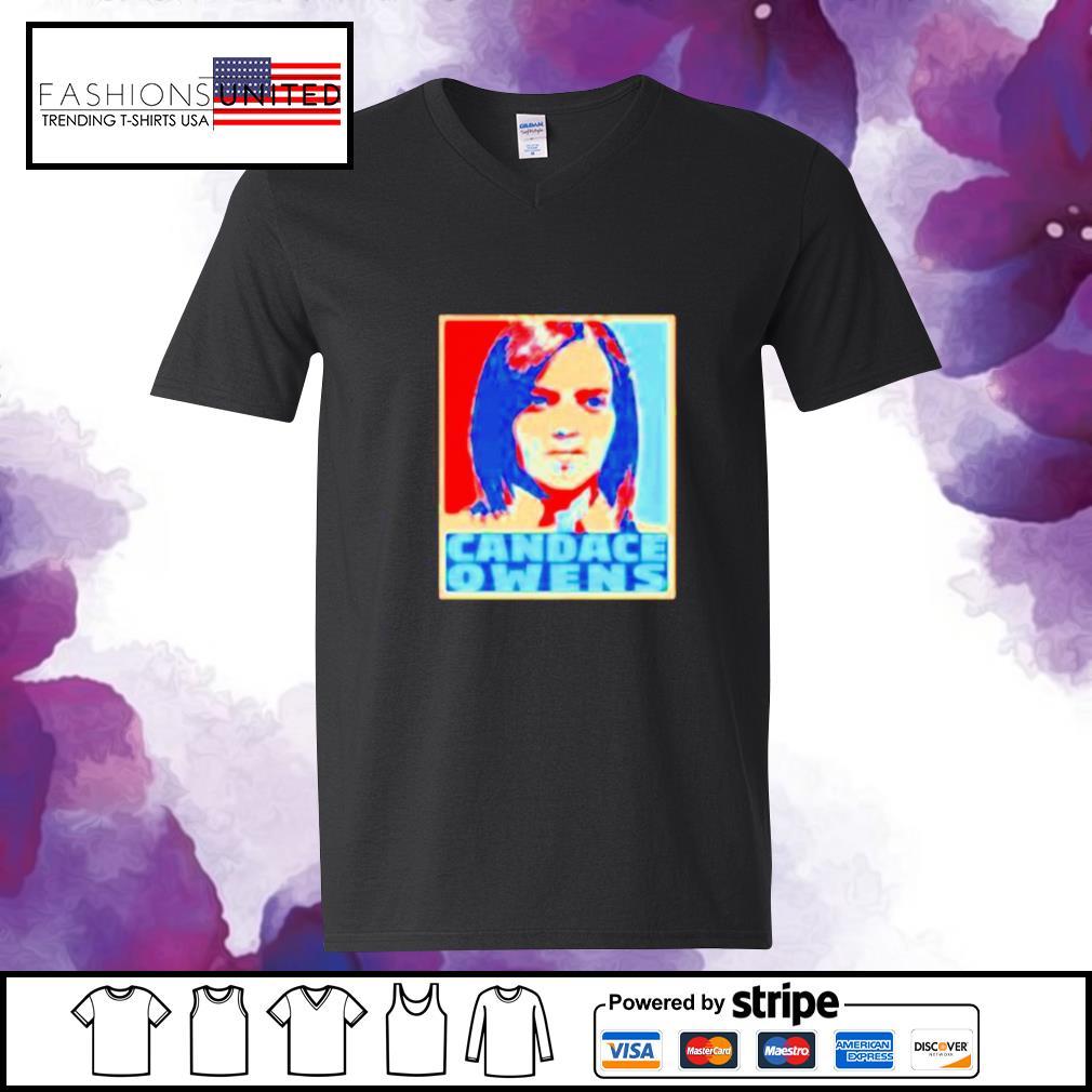 Candace Owens hope s v-neck-t-shirt