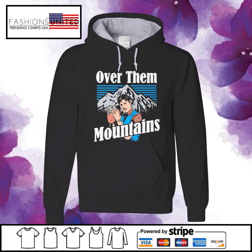 Gardner Minshew Duval Over them mountains s hoodie