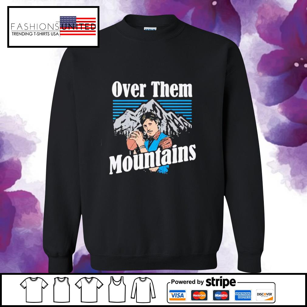 Gardner Minshew Duval Over them mountains s sweater