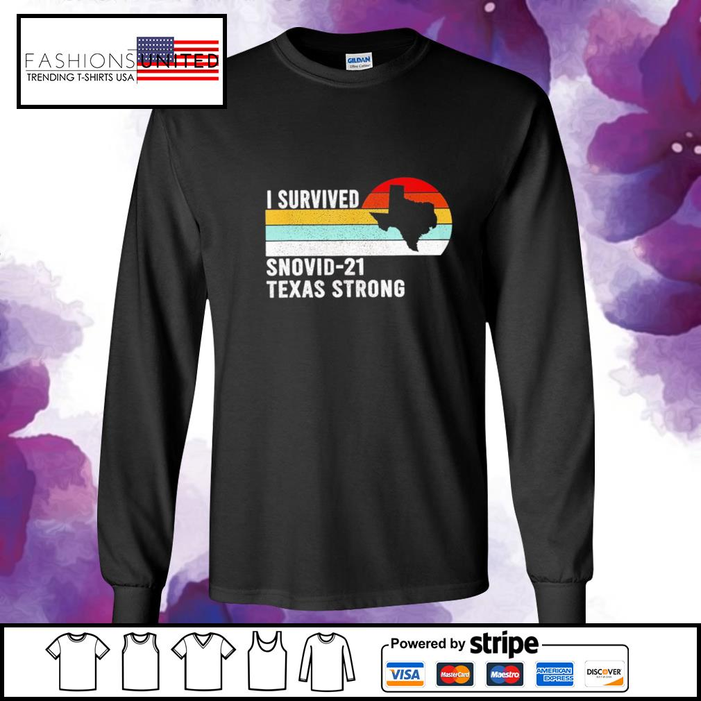 I survived snovid-21 texas strong vintage s longsleeve-tee