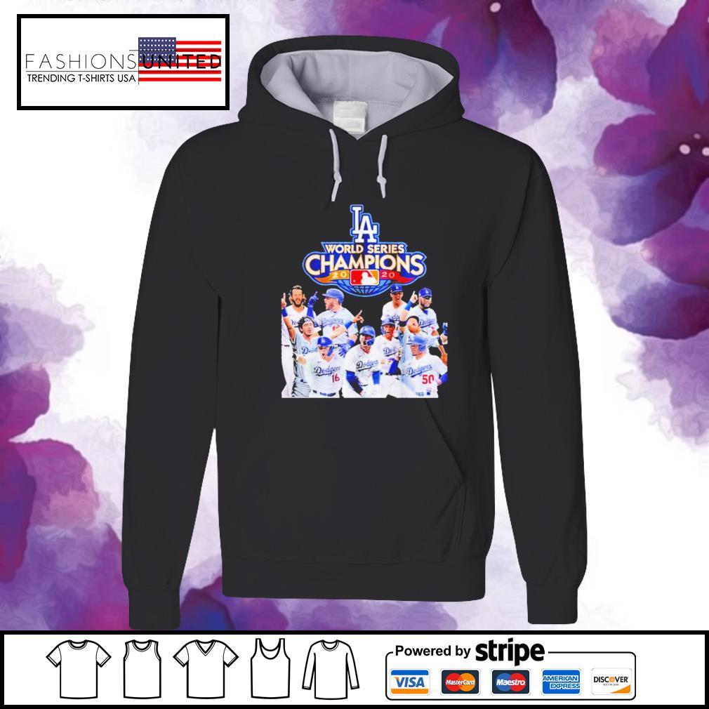 Los Angeles Dodgers MLB World Series Champions hoodie