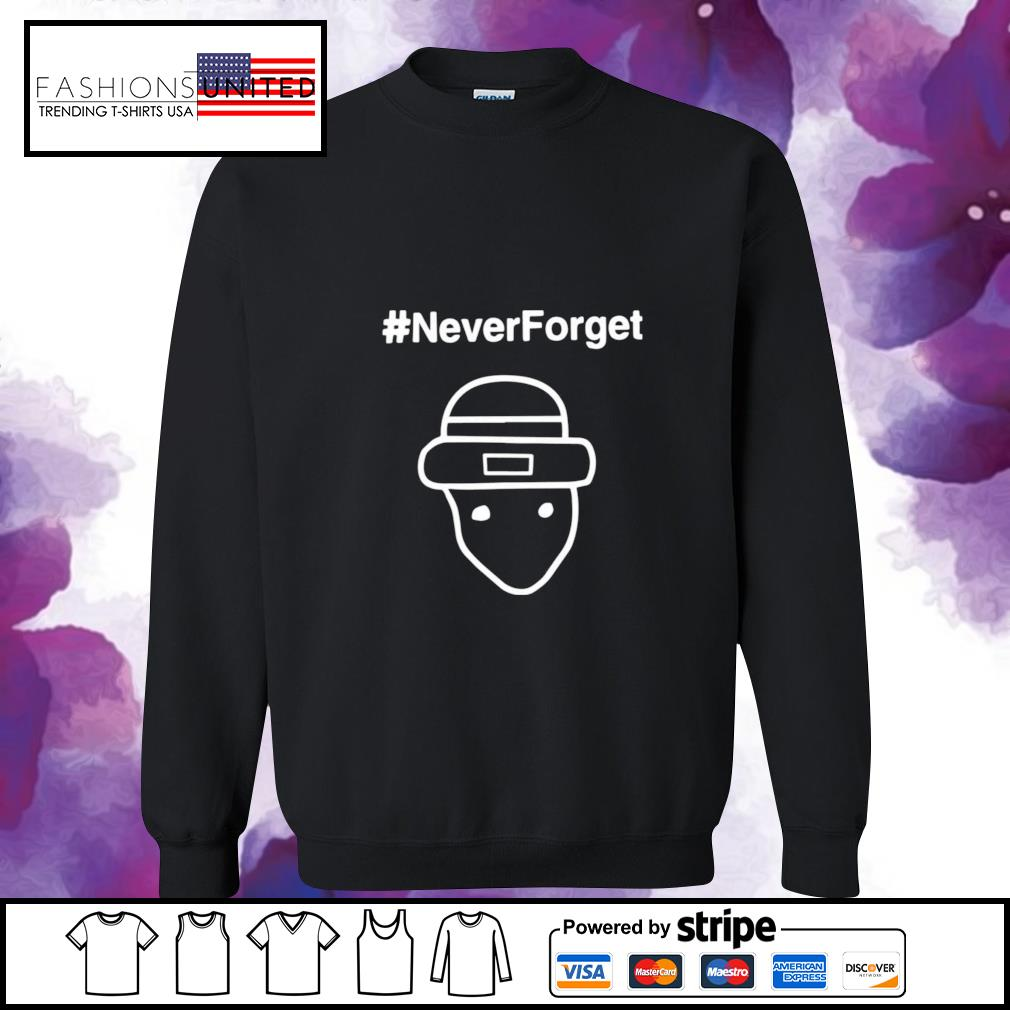 #Never forget s sweater