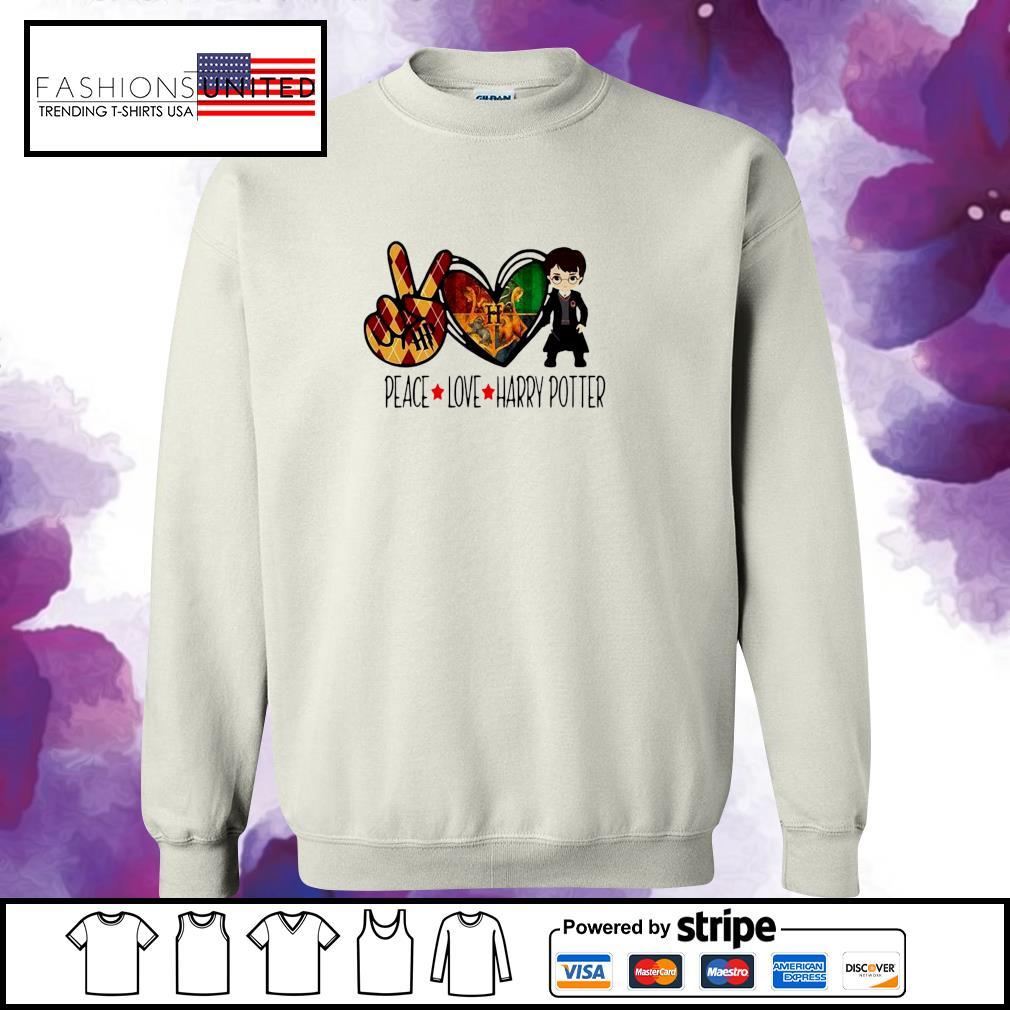 Peace Love Harry Potter s sweater