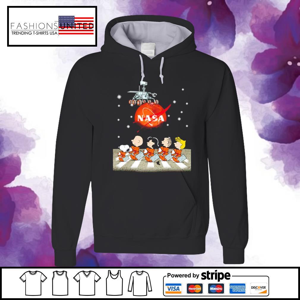 Snoopy Nasa Abbey road s hoodie