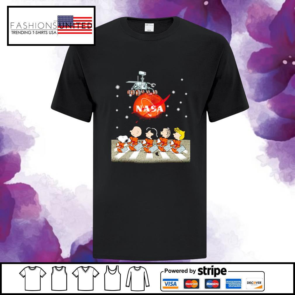 Snoopy Nasa Abbey road shirt
