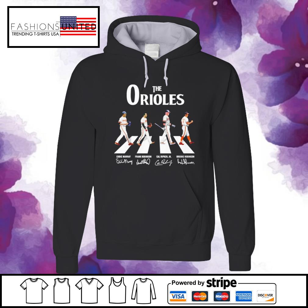 Baltimore Orioles Abbey the road signature hoodie