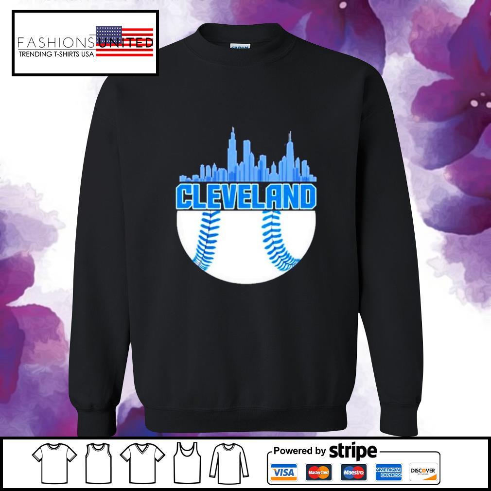 Baseball Cleveland Hometown Indian vintage sweater