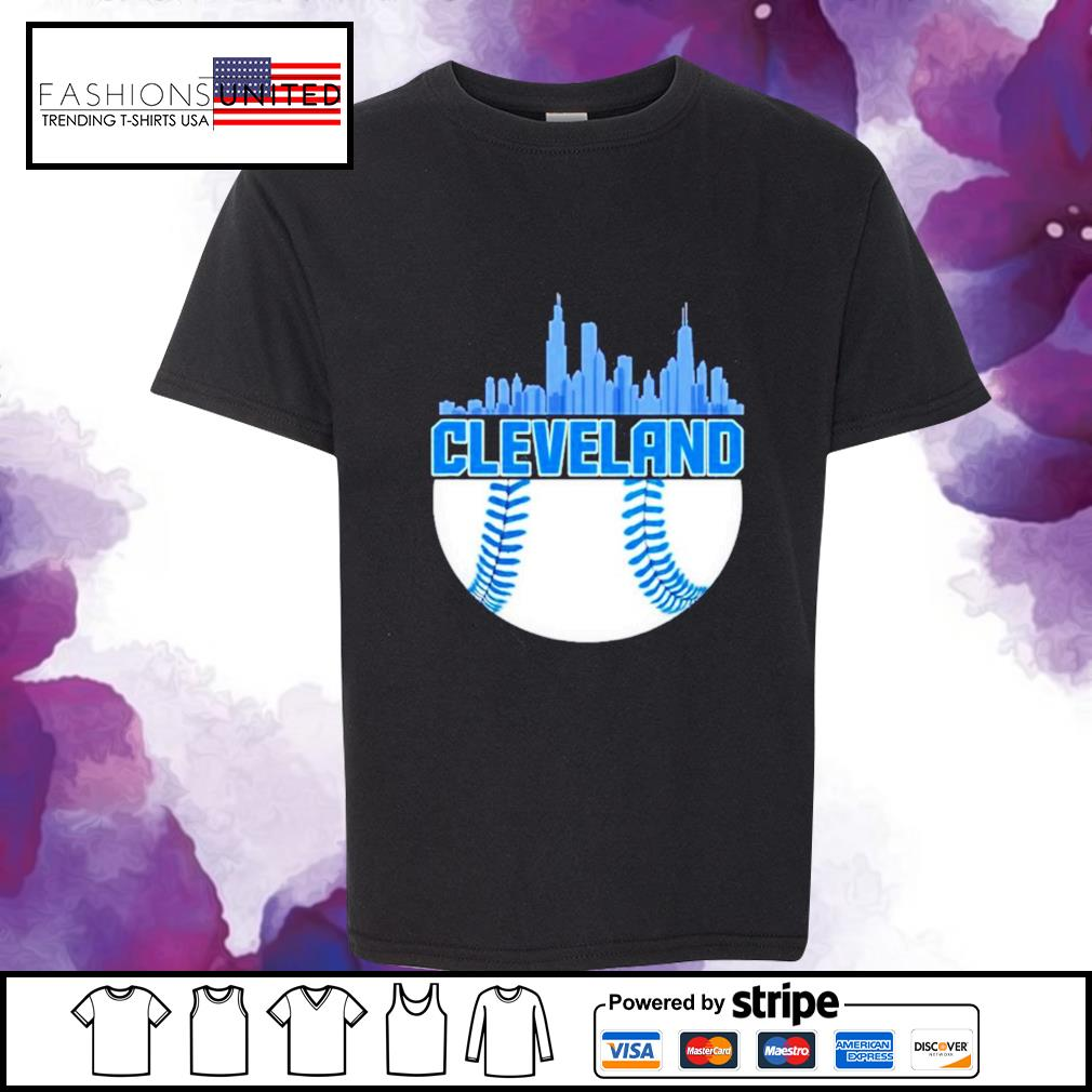 Baseball Cleveland Hometown Indian vintage youth-tee