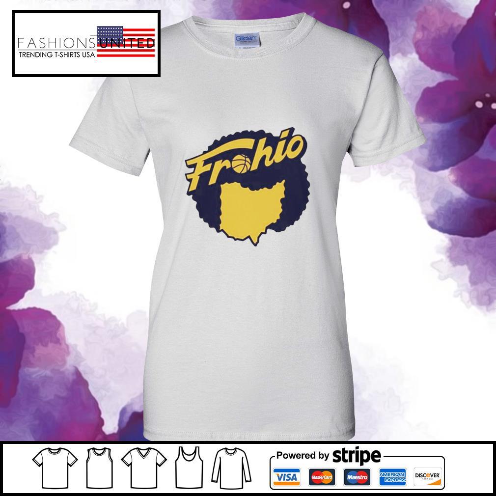 Cleveland used to be in Ohio Fruhio ladies-tee