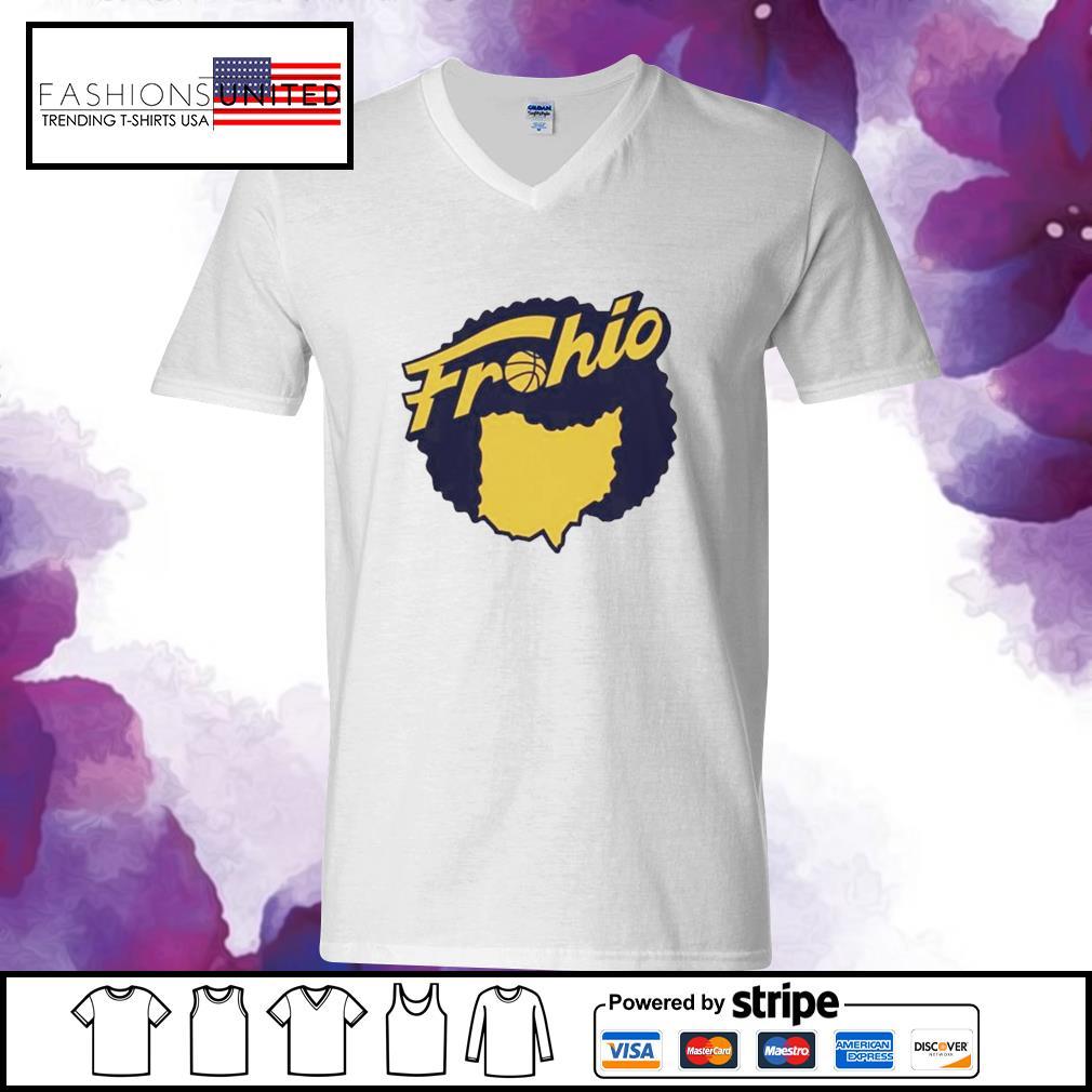 Cleveland used to be in Ohio Fruhio v-neck-t-shirt