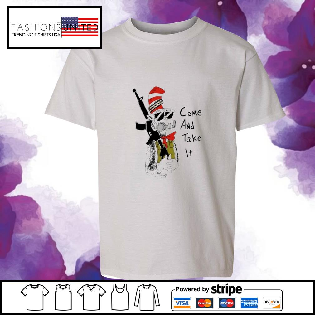 Dr Seuss come and take it youth-tee