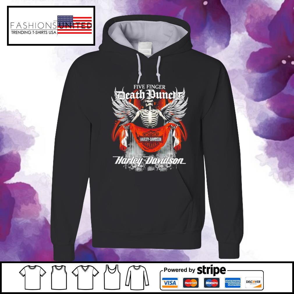 Five finger Death Punch Harley Davidson hoodie