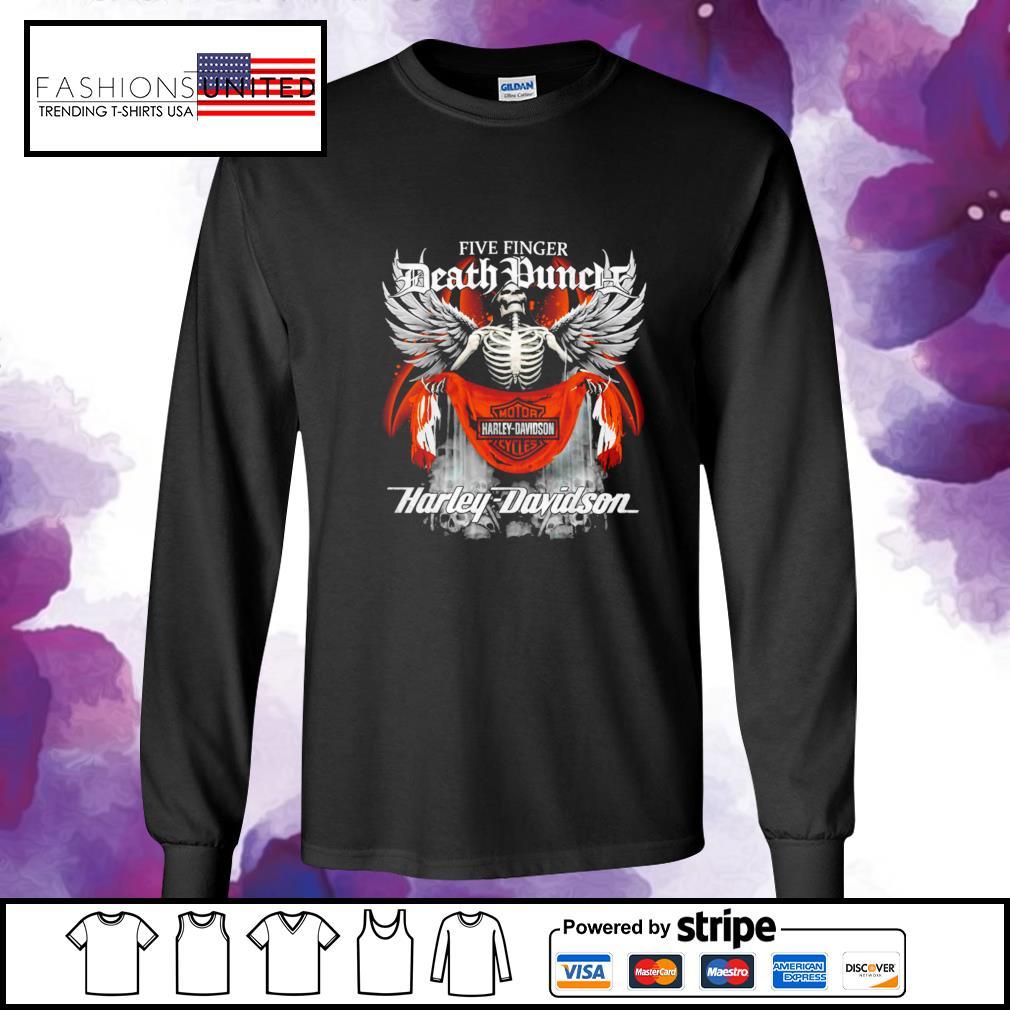 Five finger Death Punch Harley Davidson longsleeve-tee