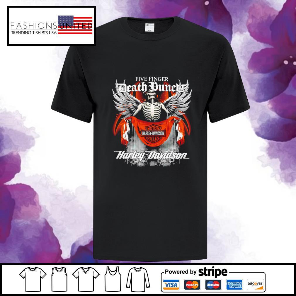 Five finger Death Punch Harley Davidson shirt