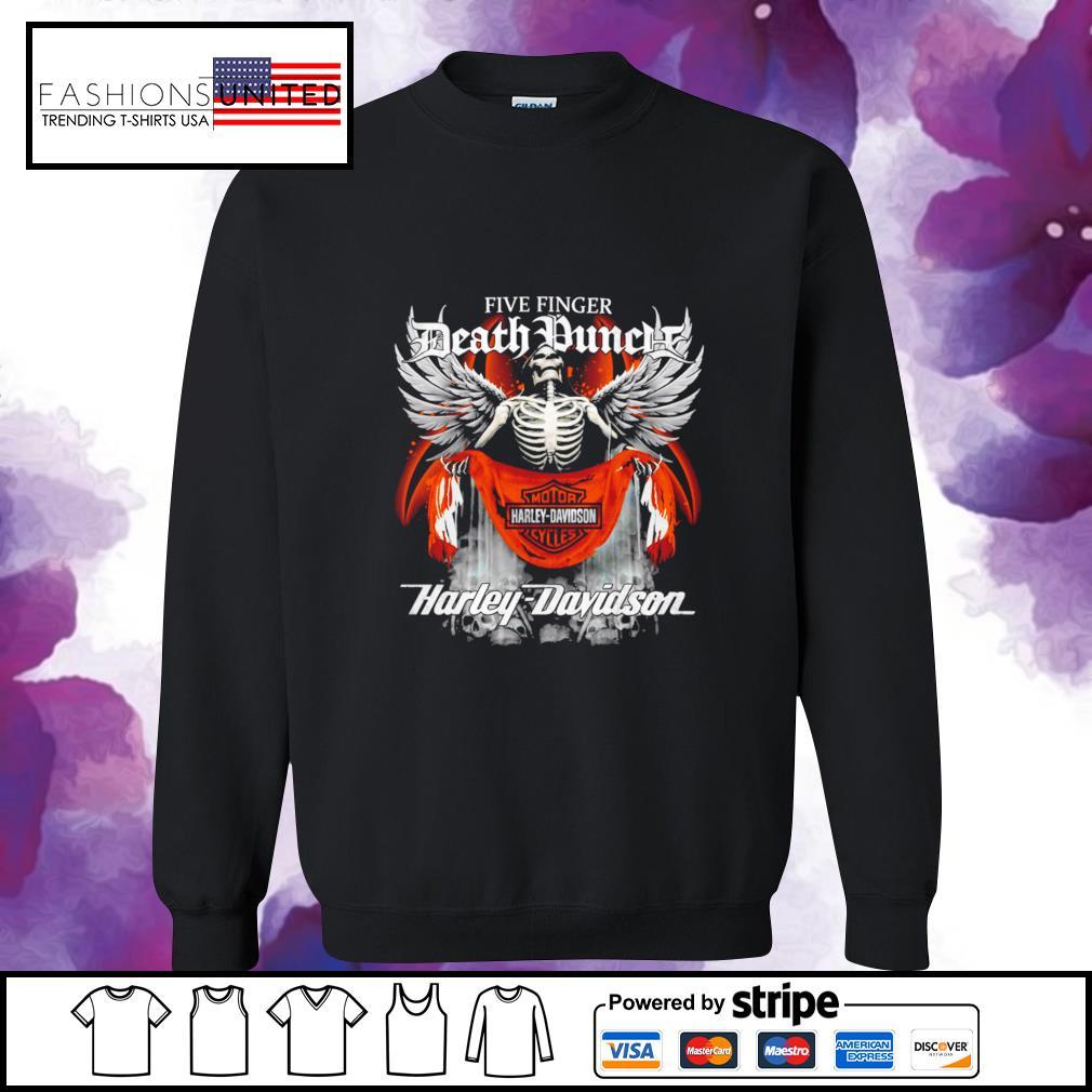 Five finger Death Punch Harley Davidson sweater