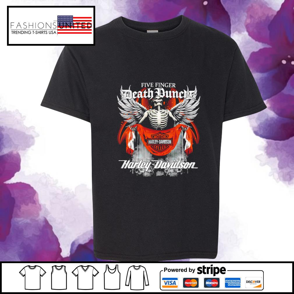 Five finger Death Punch Harley Davidson youth-tee