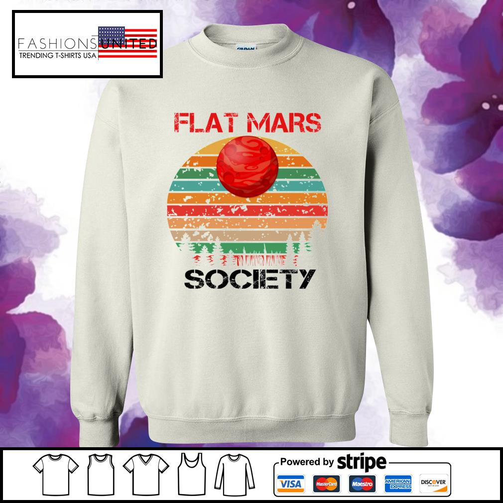 Flat mars society vintage sweater