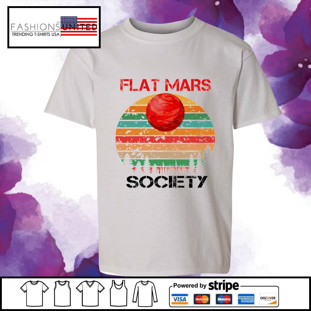 Flat mars society vintage youth-tee