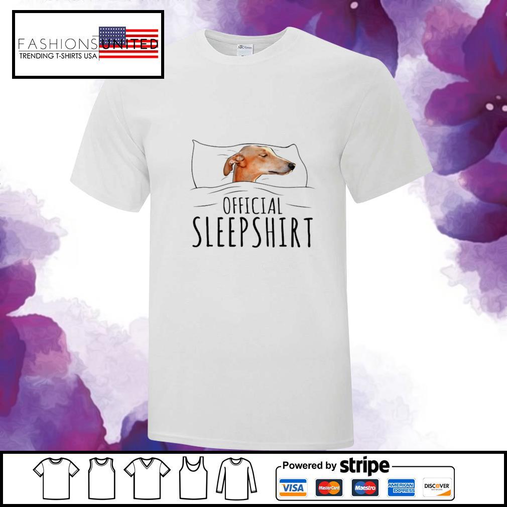 Greyhound Official Sleep shirt