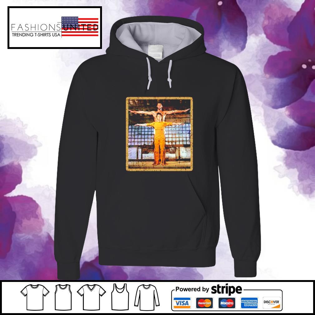 Kareem Abdul Jabar and Bruce Lee Game of death martial arts hoodie