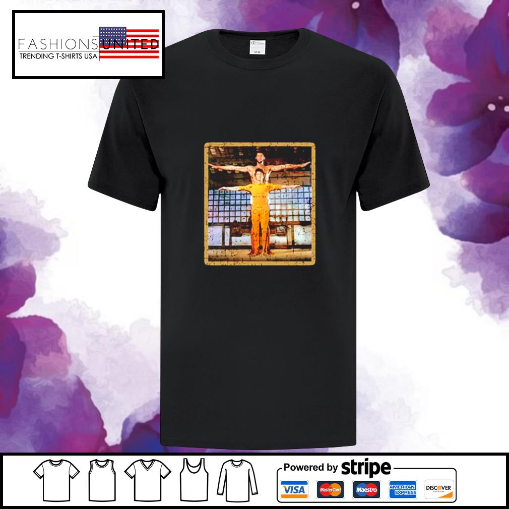 Kareem Abdul Jabar and Bruce Lee Game of death martial arts shirt