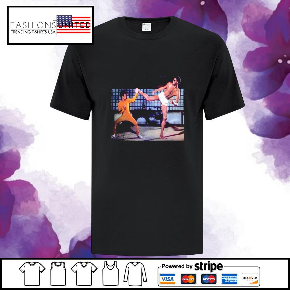 Kareem Abdul Jabbar and Bruce Lee Game of Death shirt