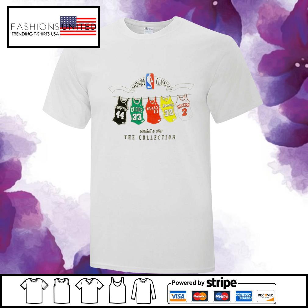 NBA Hardwood Classics Mitchell & Ness the collection shirt