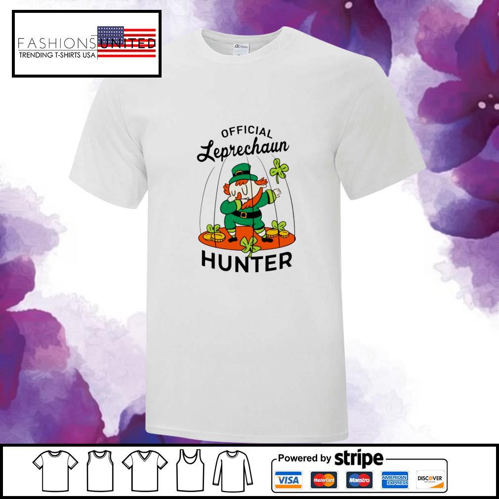 St. Patrick's Day official leprechaun hunter shirt