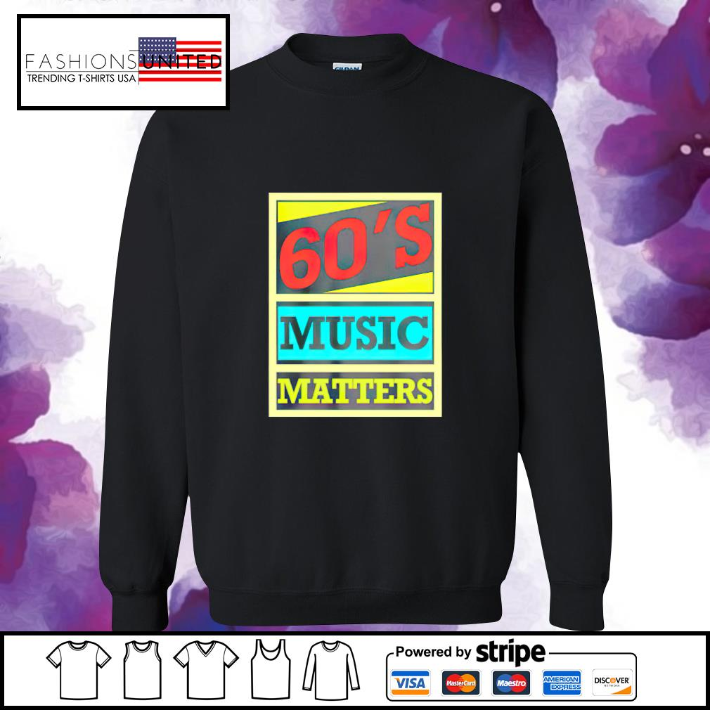 60s music matters vintage s sweater
