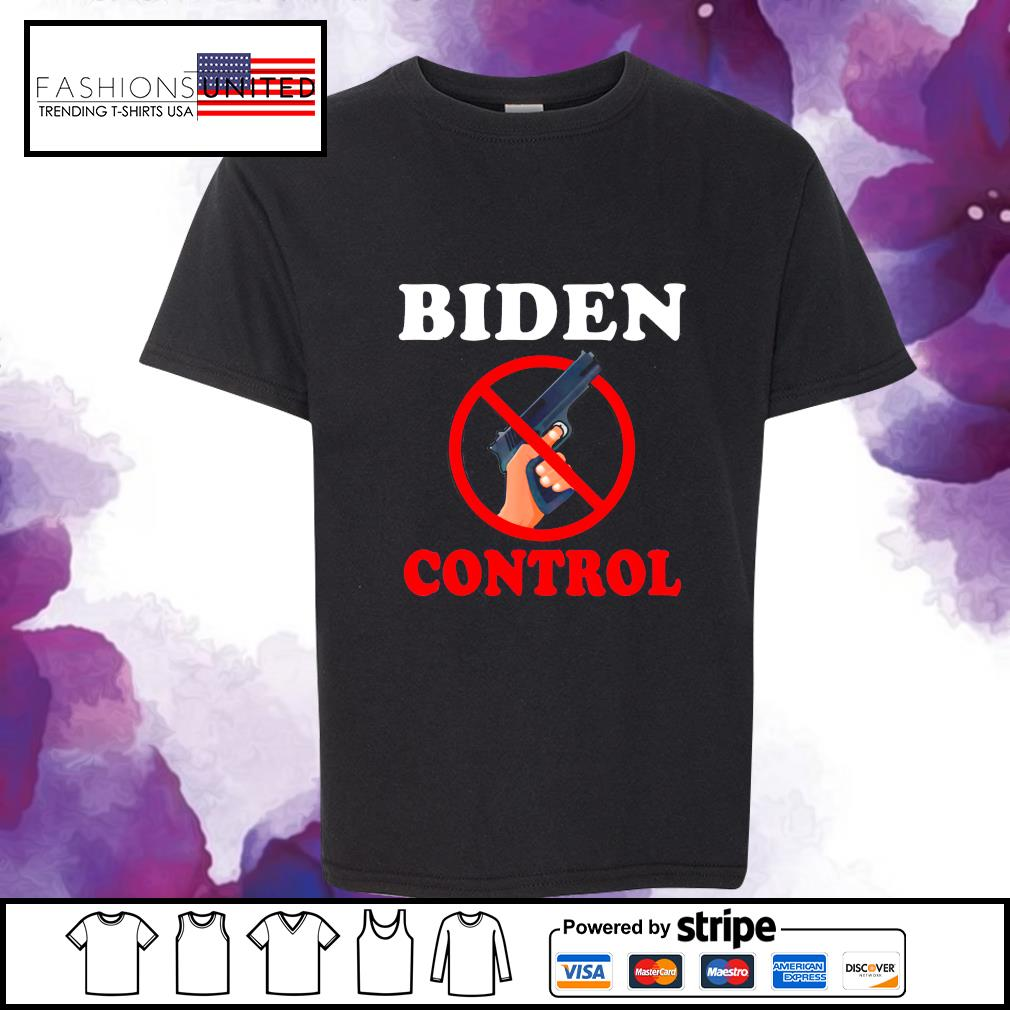 BIDEN gun control s youth-tee