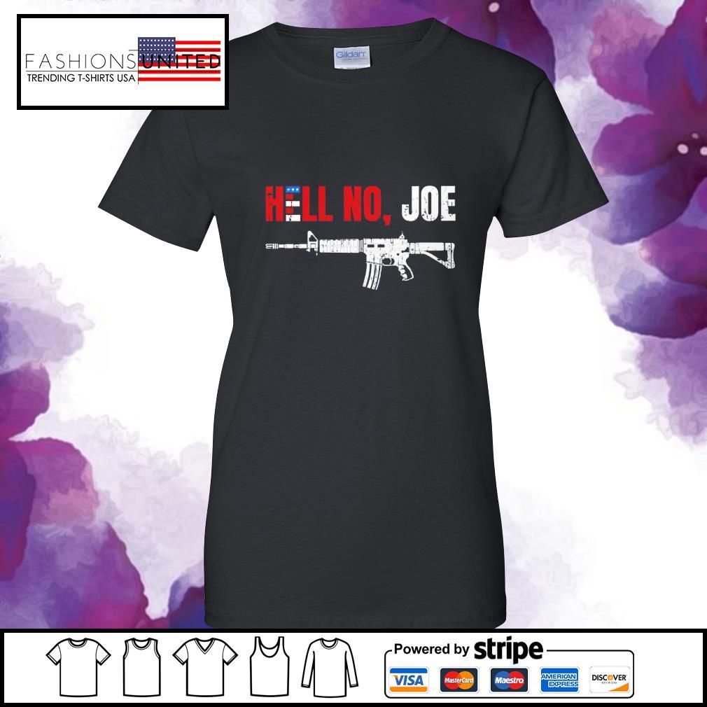 Gun hell no Joe Biden s ladies-tee