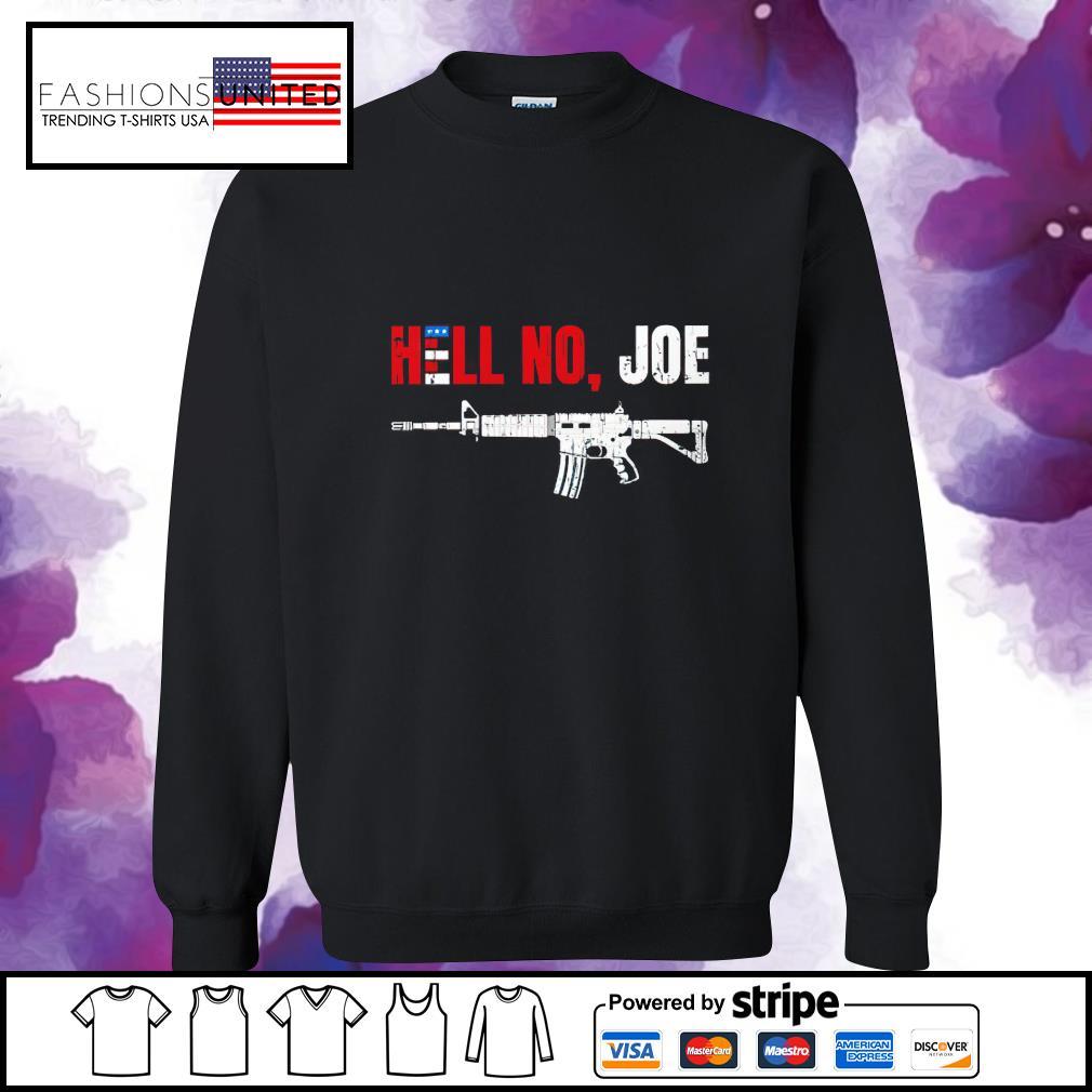Gun hell no Joe Biden s sweater