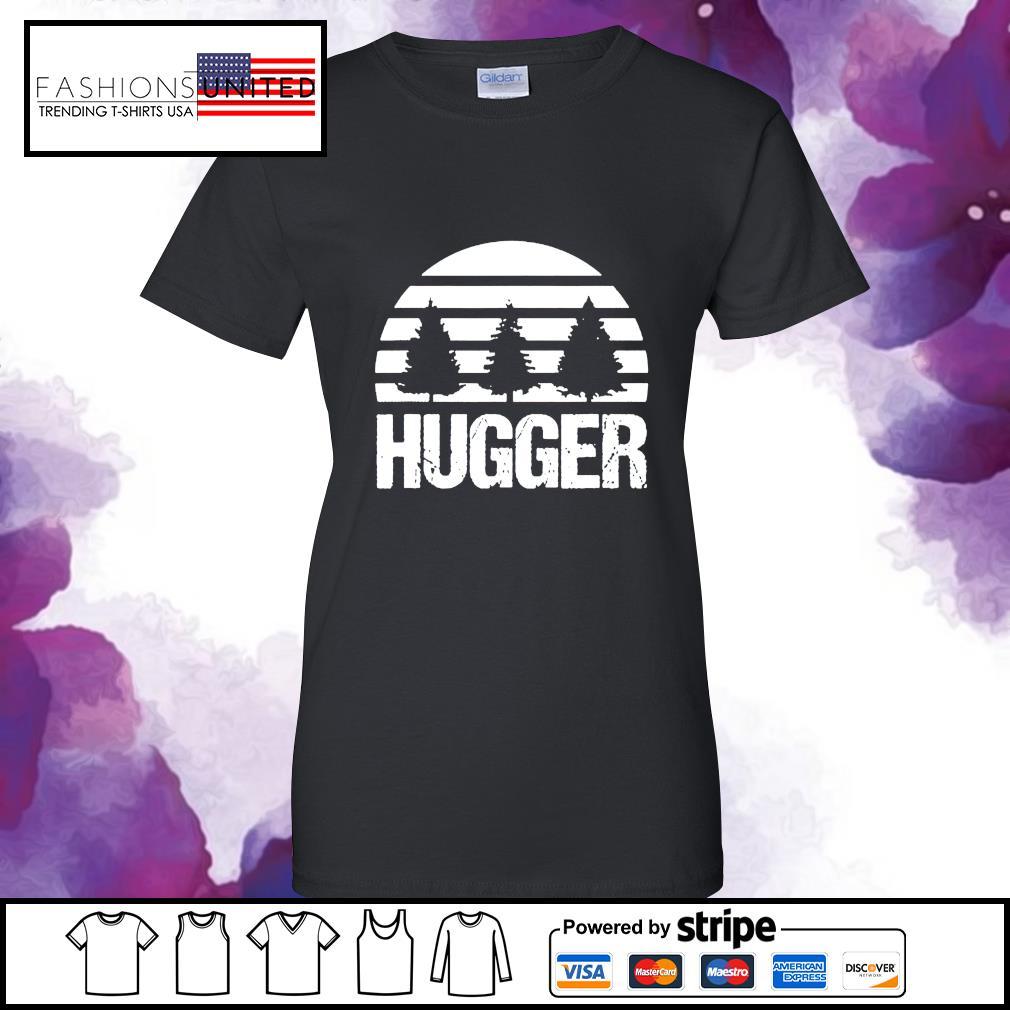Hugger Tree vintage s ladies-tee