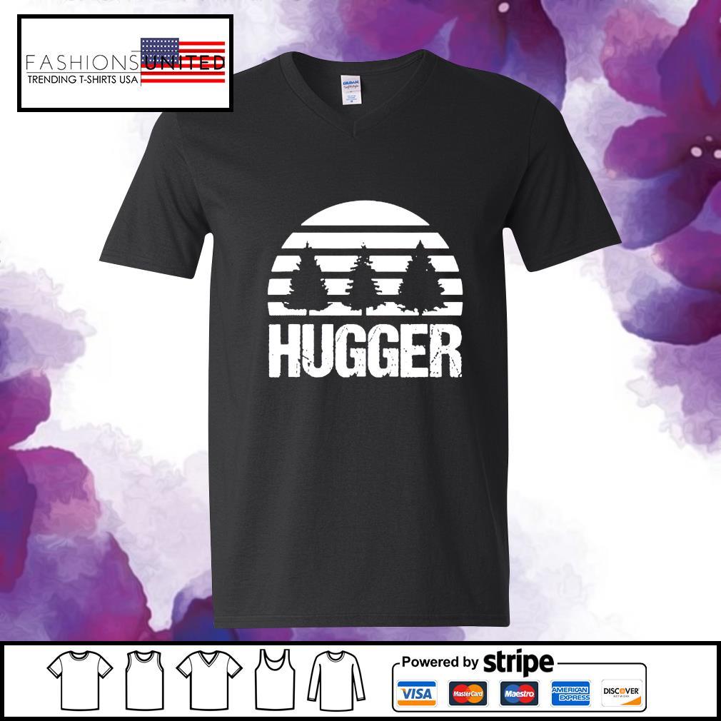 Hugger Tree vintage s v-neck-t-shirt
