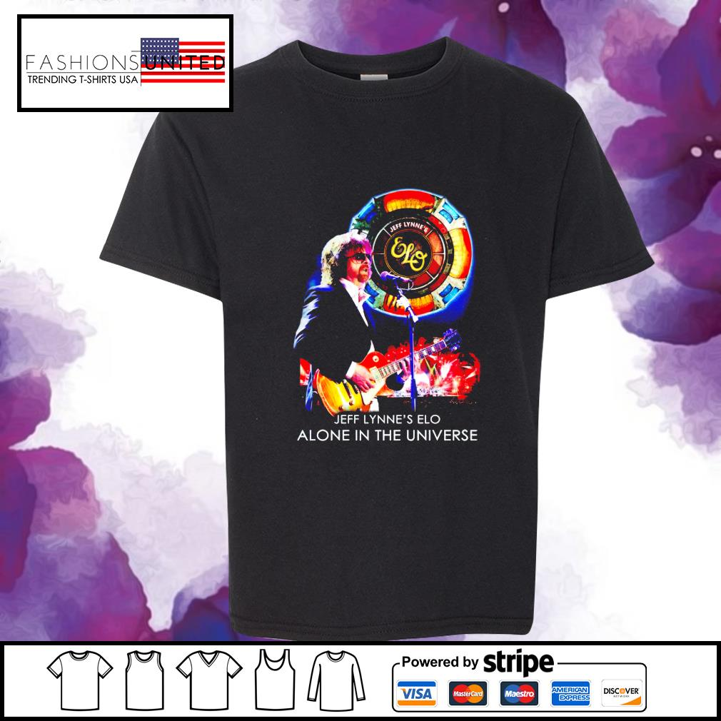 Jeff Lynne's Elo alone in the universe s youth-tee