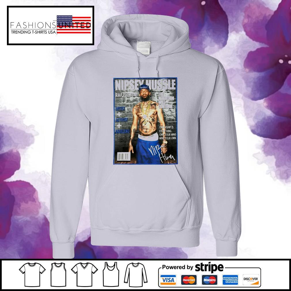 Nipsey Hussle rap phenom the marathon will continue signature s hoodie