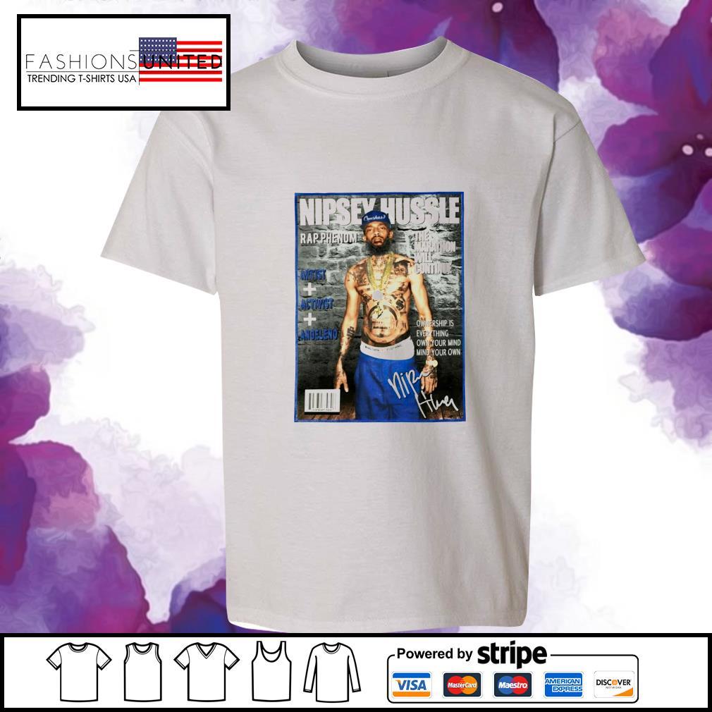 Nipsey Hussle rap phenom the marathon will continue signature s youth-tee