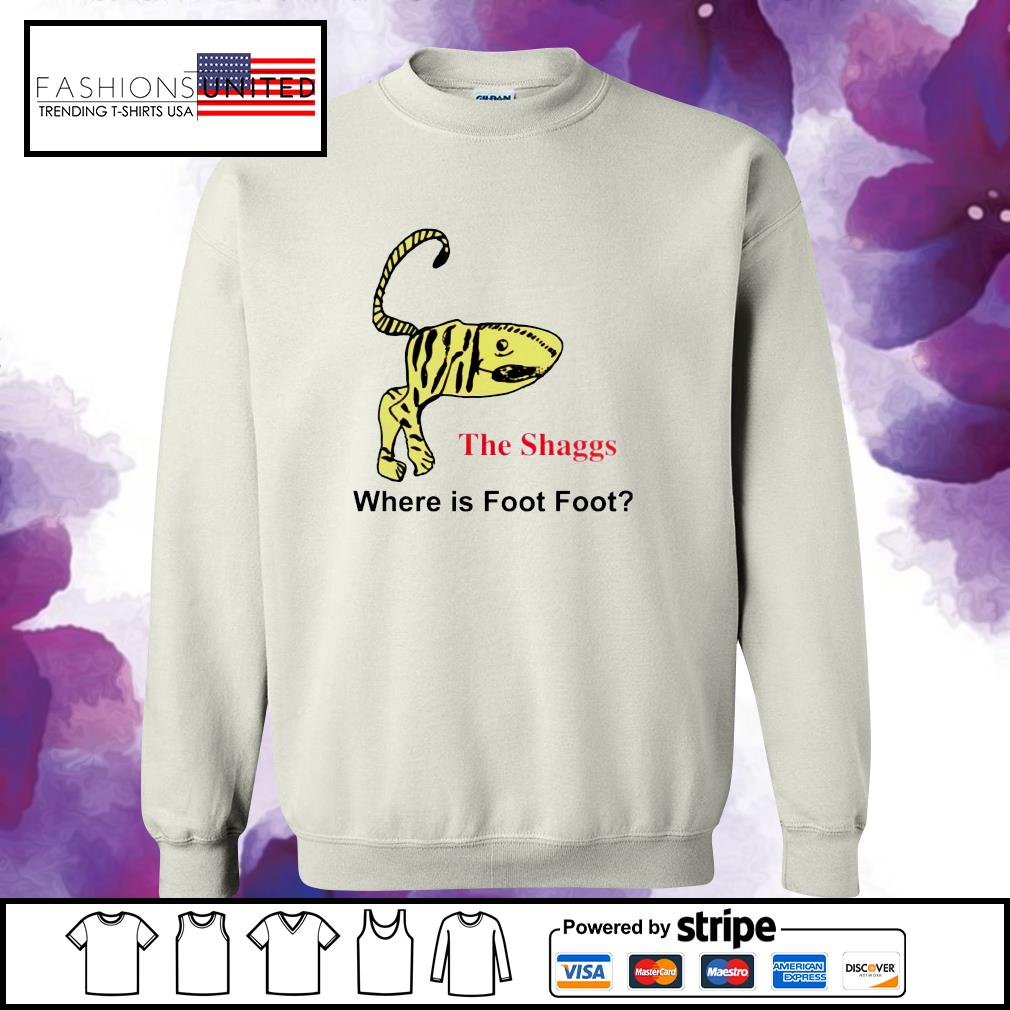 The shaggs where is foot foot s sweater