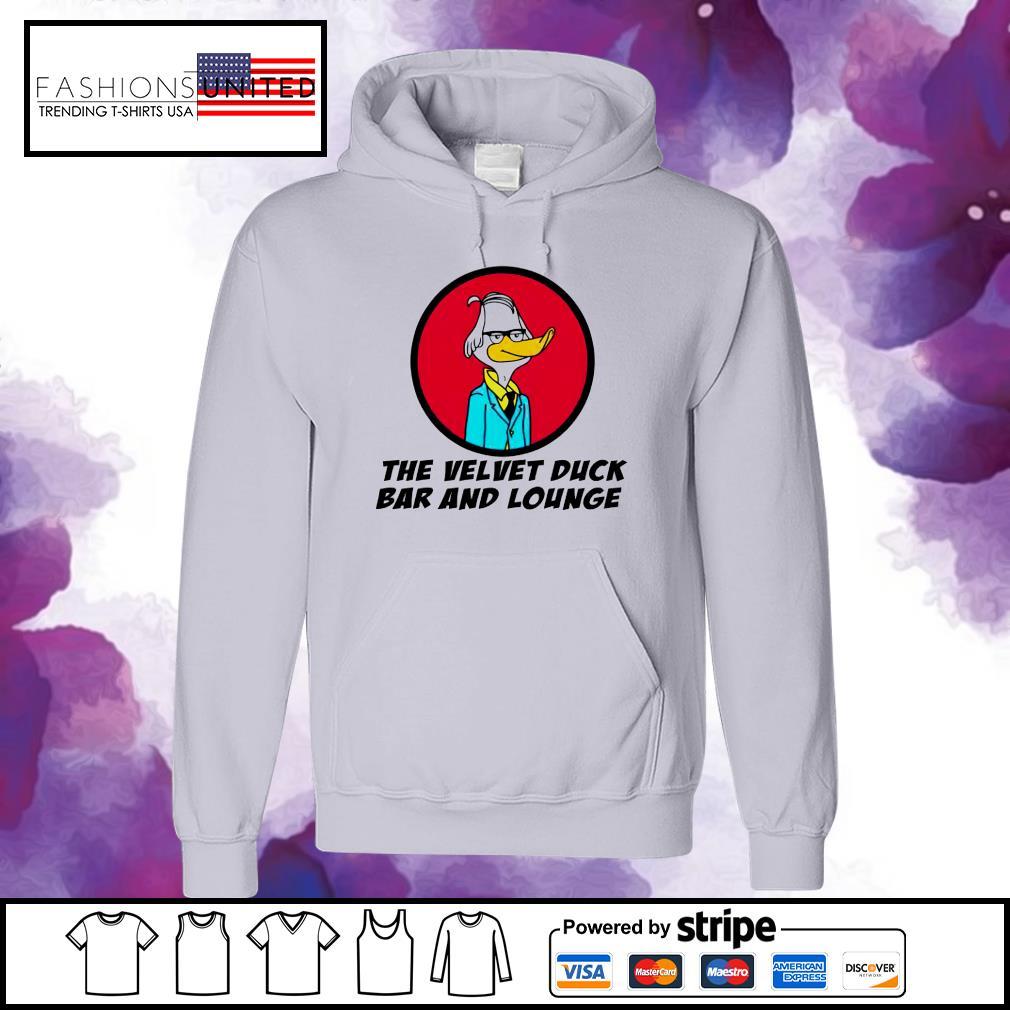 Velvet Duck the velvet duck bar and lounge s hoodie