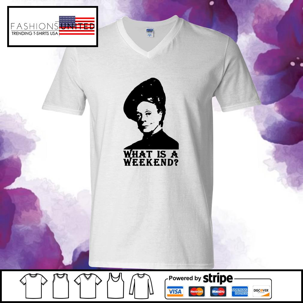 Violet Crawley what is a weekend s v-neck-t-shirt