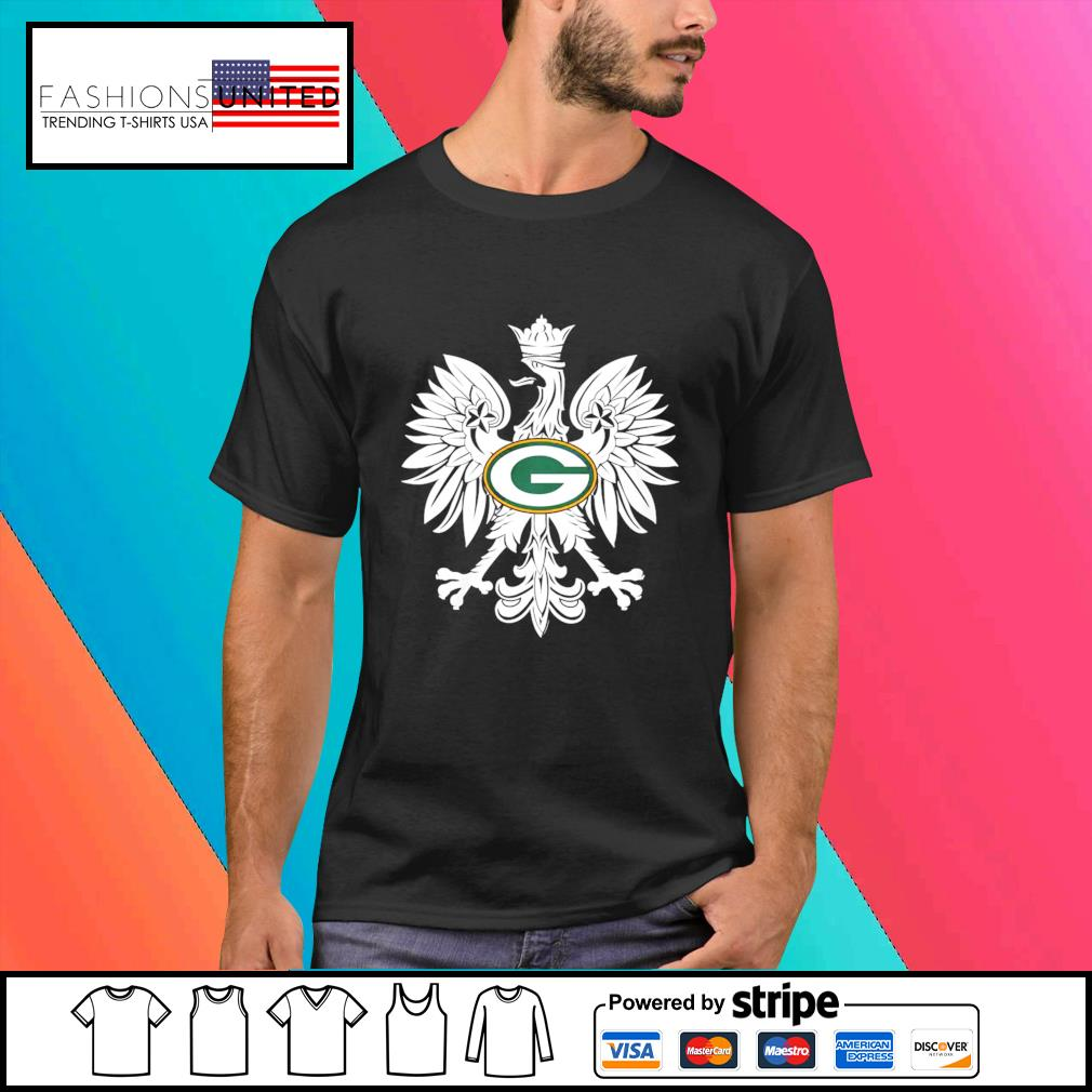 Coat of arms of Poland Green Bay Packers shirt