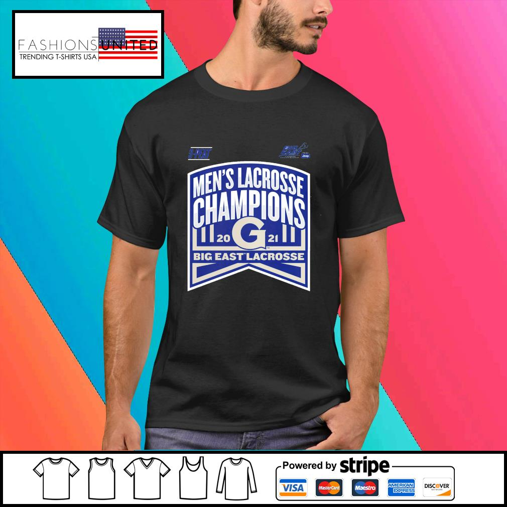 Georgetown Hoyas 2021 Big East Men's Lacrosse Champions shirt