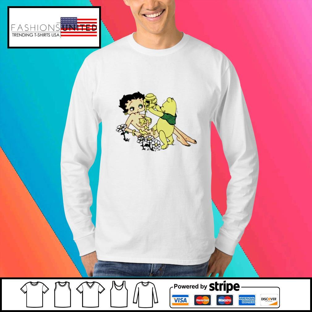 Honey betty boop and pooh bear s Sweater