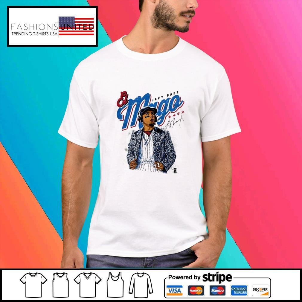 Javier Baez Baseball Mago signature shirt
