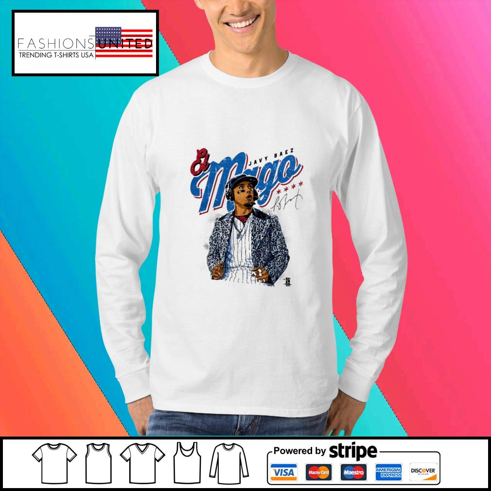 Javier Baez Baseball Mago signature s Sweater