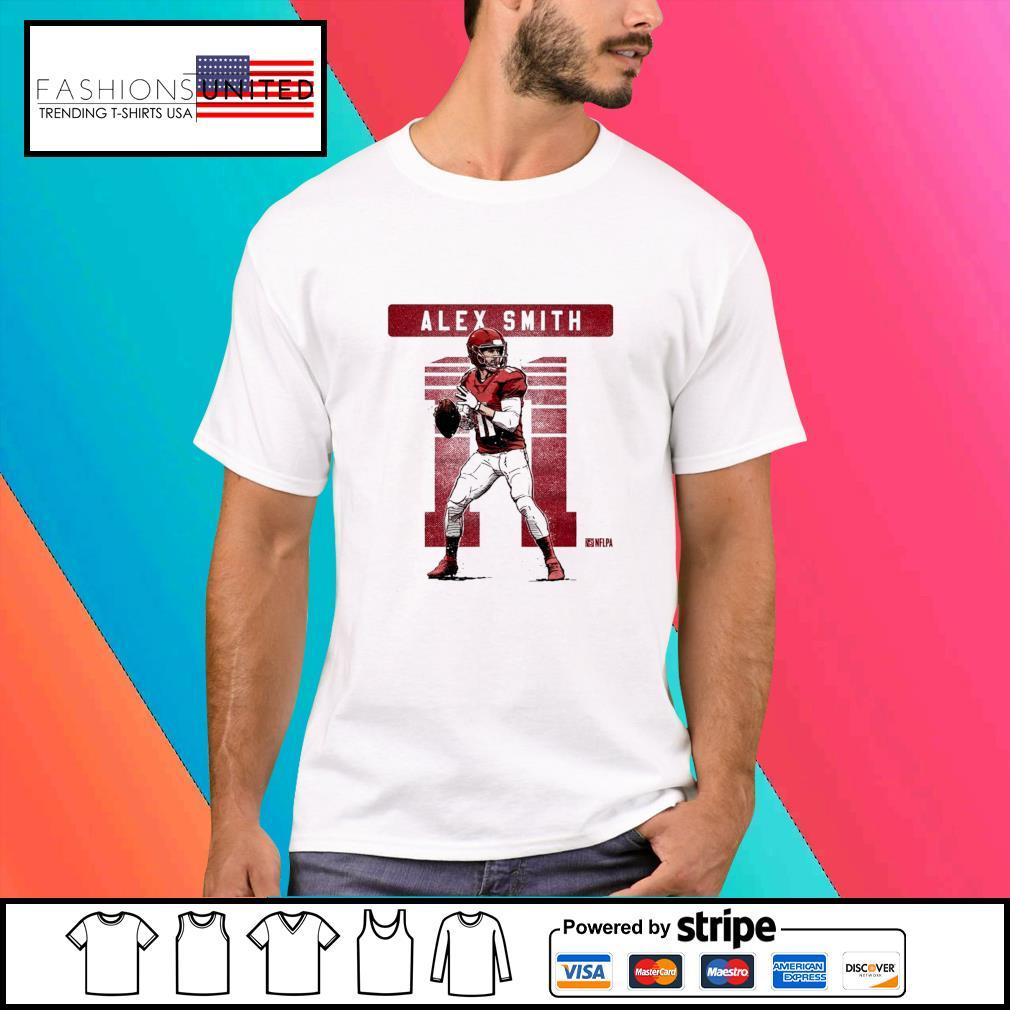 Kansas City Chiefs 11 Alex Smith NFLPA shirt