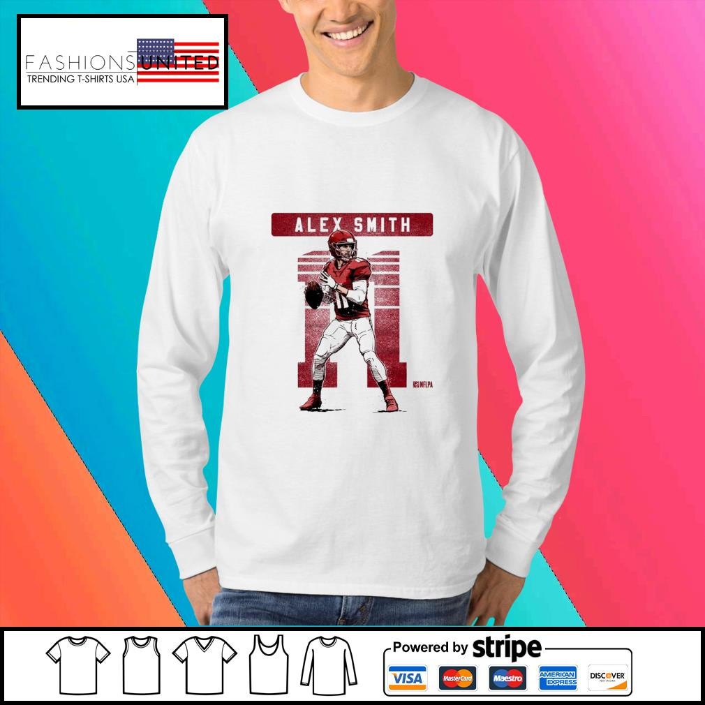 Kansas City Chiefs 11 Alex Smith NFLPA s Sweater