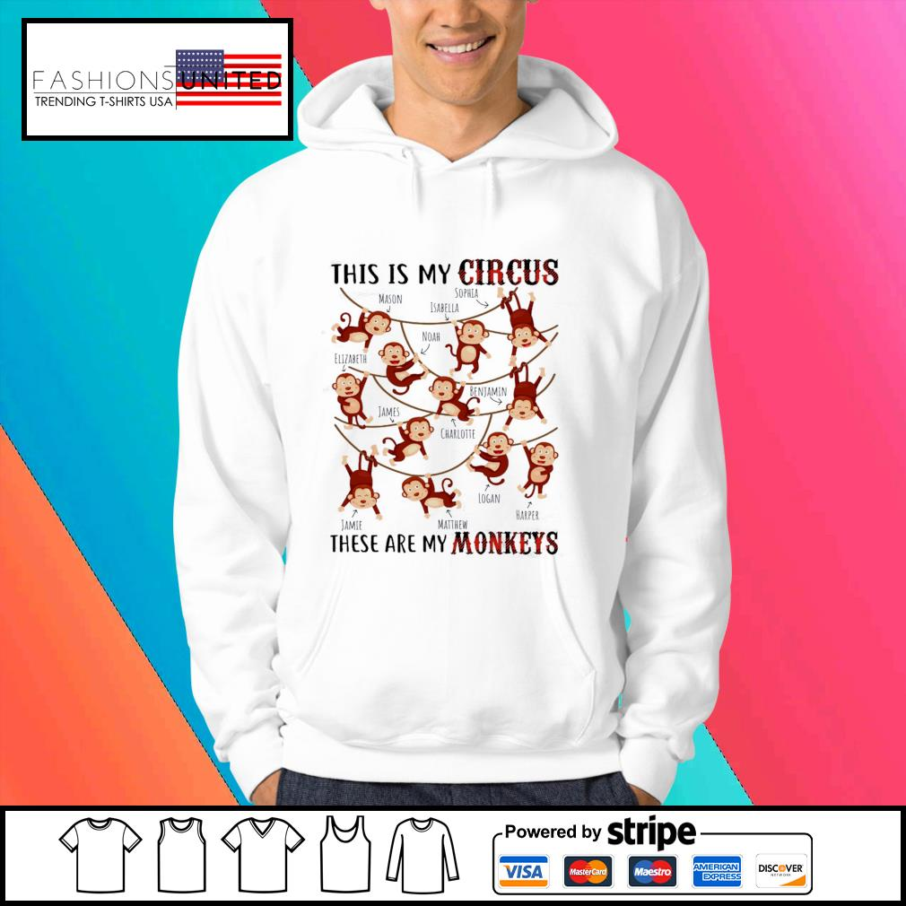 This is my circus these are my Monkeys s Hoodie