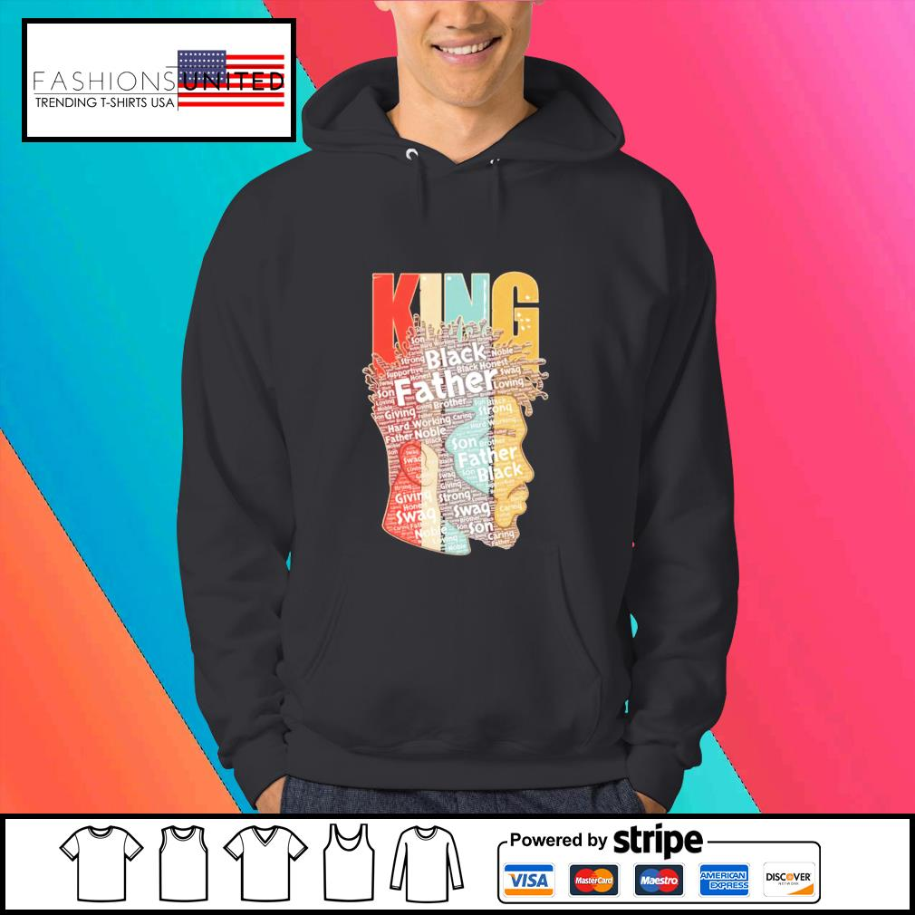 King african American black Father s Hoodie