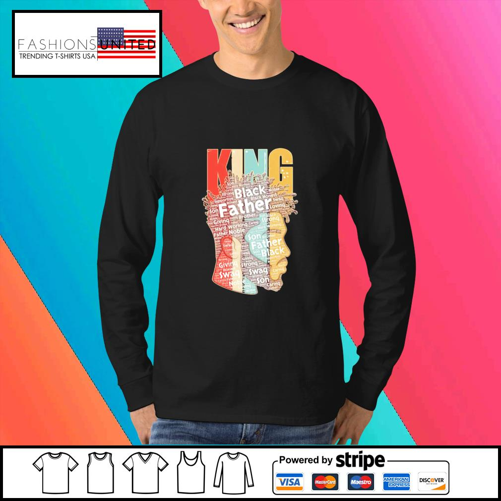 King african American black Father s Sweater